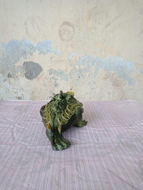 langngheducdong.vn - óc 3 chân dài 18cm, thiềm thừ ngậm tiền phong thuỷ