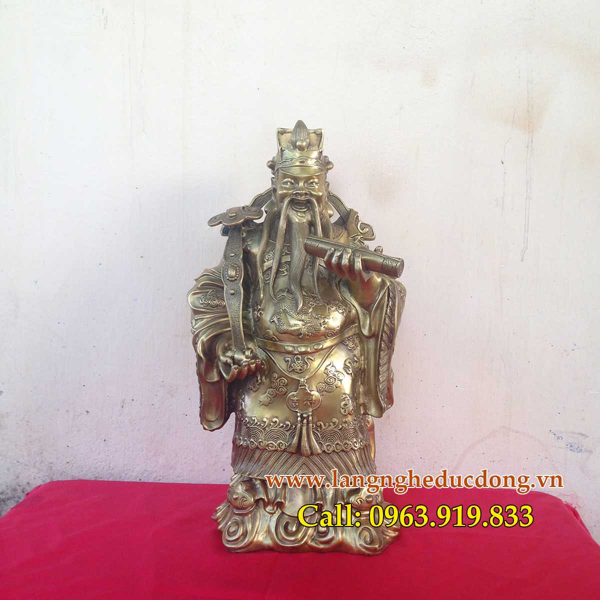 langngheducdong.vn - bộ tượng tam đa KT 45cm, ba ông Phúc Lộc Thọ, Phước Lộc Thọ