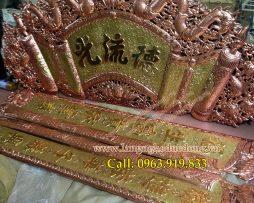 langngheducdong.vn - cuốn thư Đức Lưu Quang kích thước 176cm, đồng dày 0.8ly