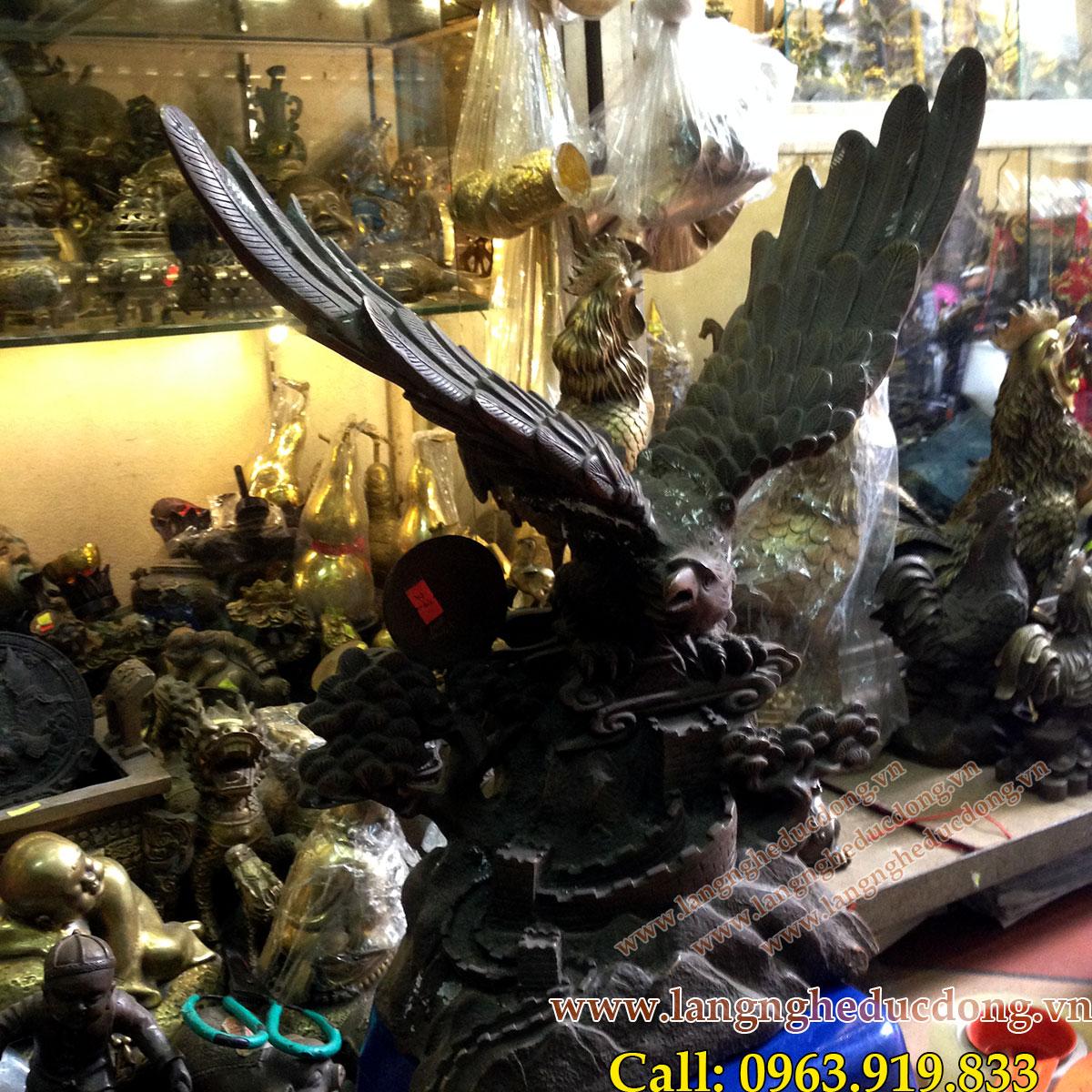 langngheducdong.vn - Tượng đồng nghệ thuật, Tượng Đại Bàng, mẫu tượng đại bàng