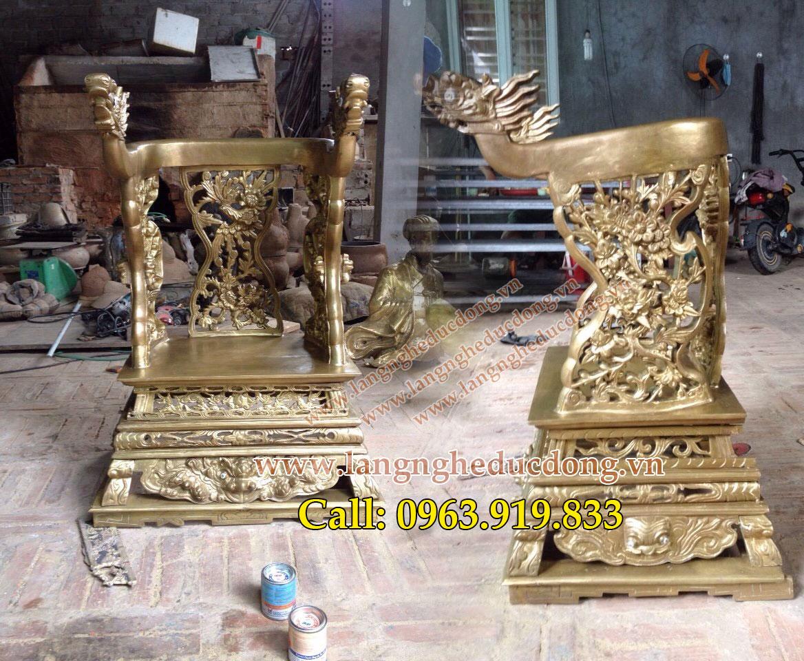 langngheducdong.vn - Đúc ngai thờ bằng đồng cho nhà thờ họ, đình chùa, từ đường
