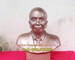 langngheducdong.vn - tượng chân dung, tượng bán thân, đúc tượng chân dung bằng đồng đỏ