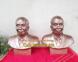 langngheducdong.vn - tượng chân dung cao 42cm, đúc tượng