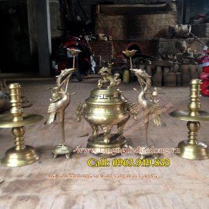 langngheducdong.vn - Đỉnh dơi phúc, đỉnh bâu cui, đỉnh đồng vàng cao 55cm, mẫu đỉnh bâu cui dơi phúc
