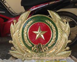 huy hiệu bằng đồng, giá huy hiệu công an