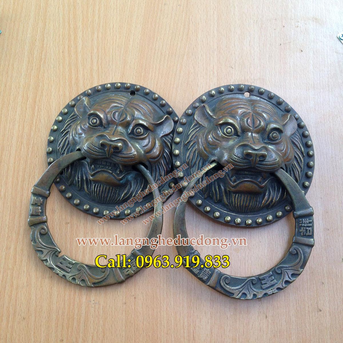 langngheducdong.vn - Mặt hổ phù gắn cửa