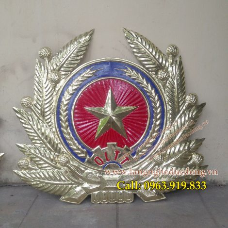 langngheducdong.vn - Mẫu huy hiệu công an Quản lý thị trường, công an hiệu