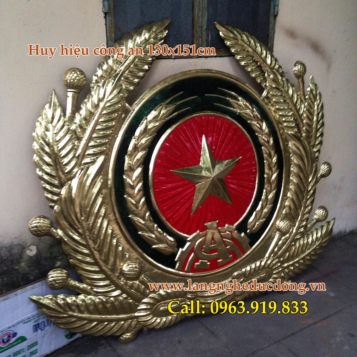 langngheducdong.vn - huy hiệu công an, công an hiệu bằng đồng, gò huy hiệu công an