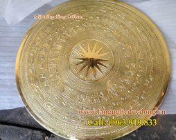 langngheducdong.vn - mặt trống đồng đông sơn bằng đồng, phù điêu trống đồng DK= 80cm