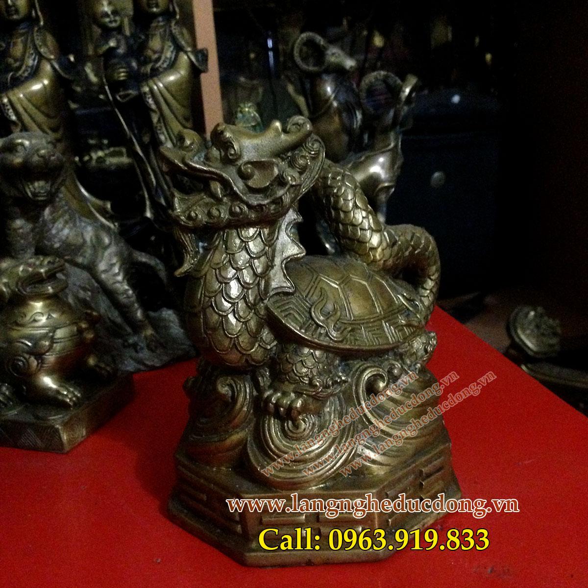 langngheducdong.vn - ùa đồng phong thủy, giá bán tượng rùa đồng