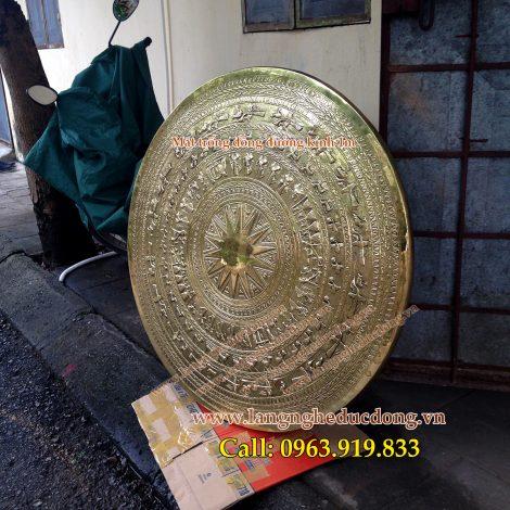 langngheducdong.vn - mặt trống, tranh đồng, mặt trống gò, mặt trống đồng vàng