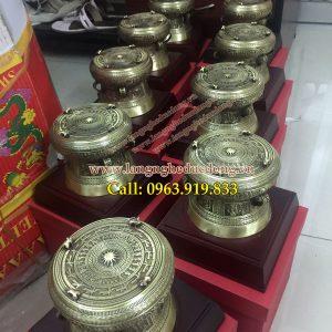 langngheducdong.vn - Trống đồng quà tặng đk 25cm, quà lưu niệm