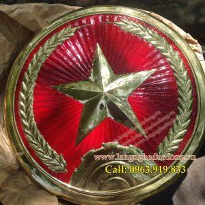 langngheducdong.vn - huy hiệu treo cổng doanh trại quân đội, Quân hiệu D=45cm