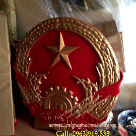 langngheducdong.vn - mẫu quốc huy đường kính 120cm