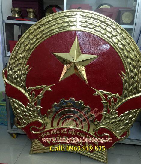 langngheducdong.vn -Gò quốc huy, quốc huy bằng đồng, mẫu quốc huy bằng đồng