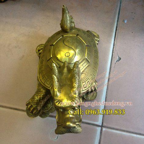 langngheducdong.vn - rùa đầu rồng cao 22cm, rùa đồng, rùa phog thủy