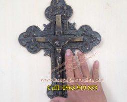 langngheducdong.vn - Thánh giá bằng đồng, mẫu thánh giá cao 30cm