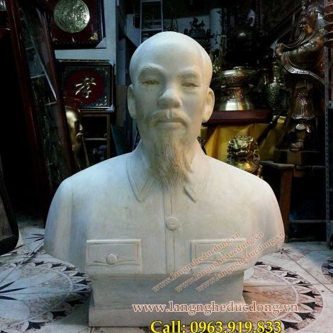 langngheducdong.vn - Tượng Bác Hồ bằng composite, mẫu chuẩn 64 tỉnh thành cao 70cm