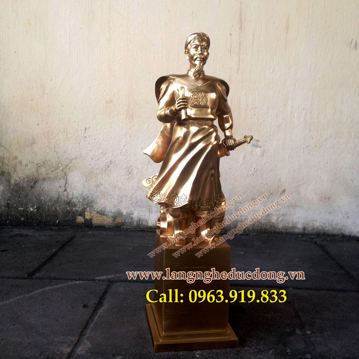 langngheducdong.vn  -Tượng Đức Thánh Trần hưng đạo cao 48cm