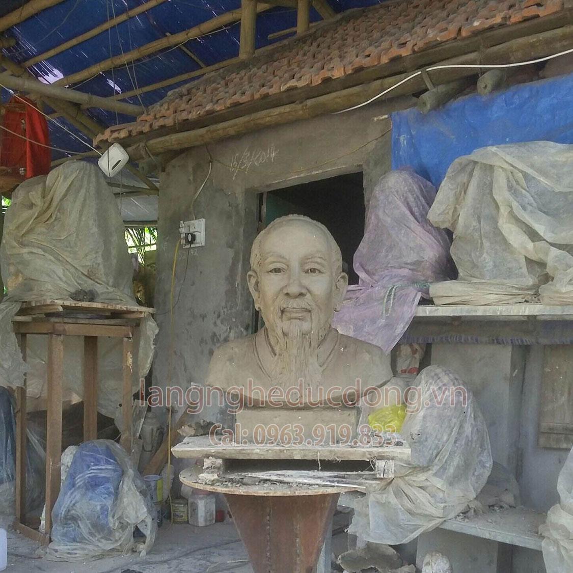 langngheducdong.vn - Tượng hải thượng lãn ông, tượng danh y, tượng thần y bằng đồng