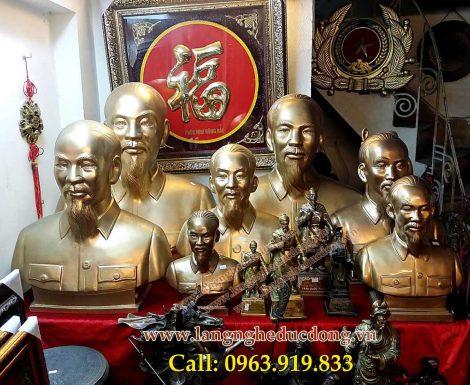 langngheducdong.vn - Tượng Bác hồ dùng trang trí, tưởng niệm trong các hội trường