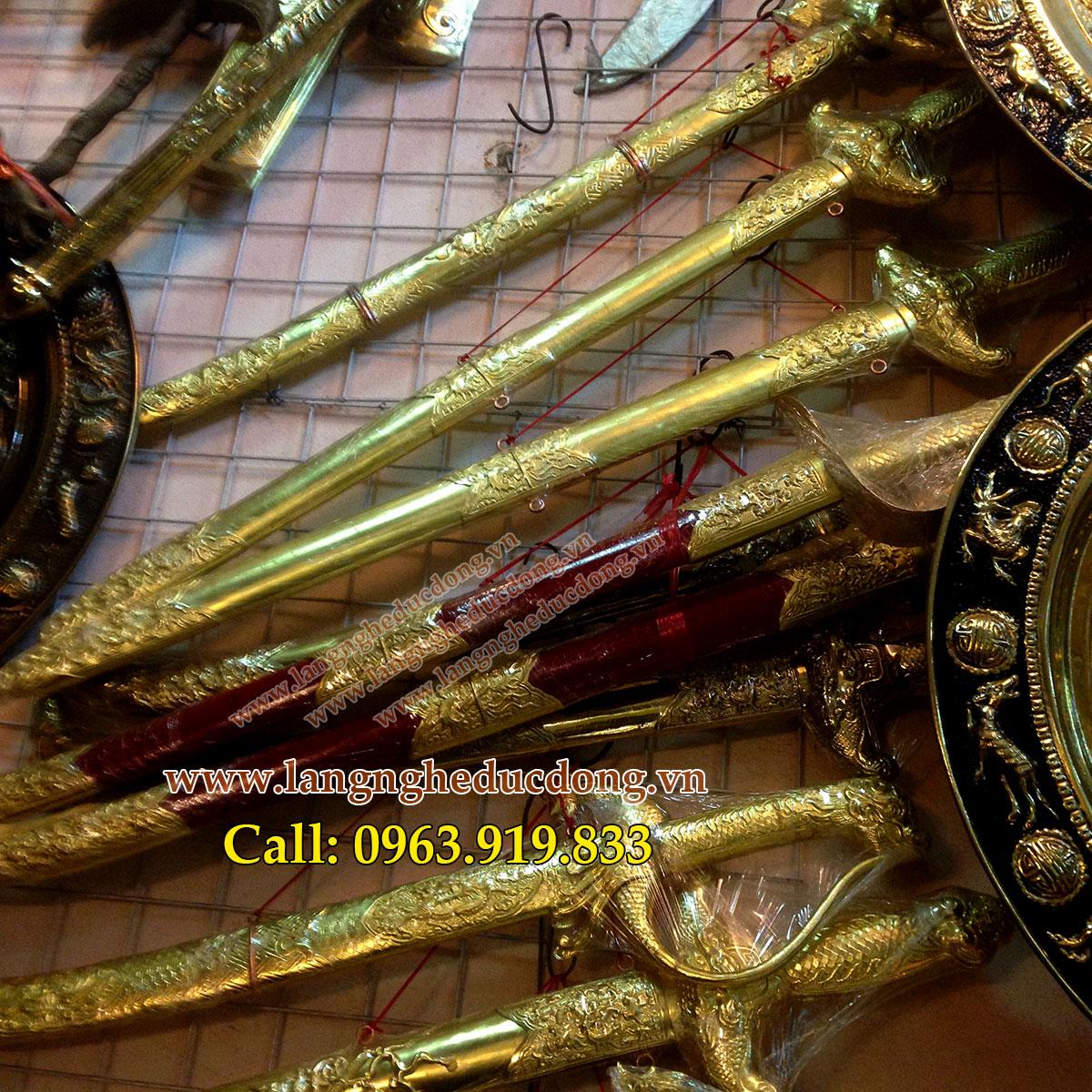 langngheducdong.vn - Kiếm đồng phong thủy, kiếm gò đồng, kiếm bằng đồng 60cm