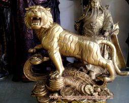 langngheducdong.vn - tượng hổ phong thủy, hổ đồng đứng