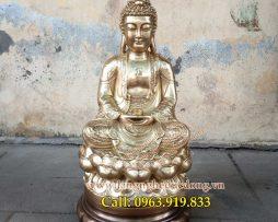 langngheducdong.vn - Tượng Phật Thích Ca bằng đồng, tuong phat tho cung