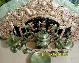 langngheducdong.vn - Bộ đồ thờ, Hoành phi câu đối, đỉnh đồng ngũ sự