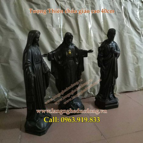 langngheducdong.vn - tượng đồng đức mẹ maria và chúa giesu, tượng thiên chúa