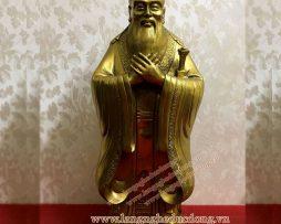 langngheducdong.vn - tượng khổng tử, tượng đồng, đồ đồng, tượng bằng đồng