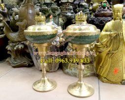 langngheducdong.vn - Đèn dầu, đèn đốt dầu hỏa, đèn bằng đồng, mẫu đèn đốt dầu hỏa bọc đồng