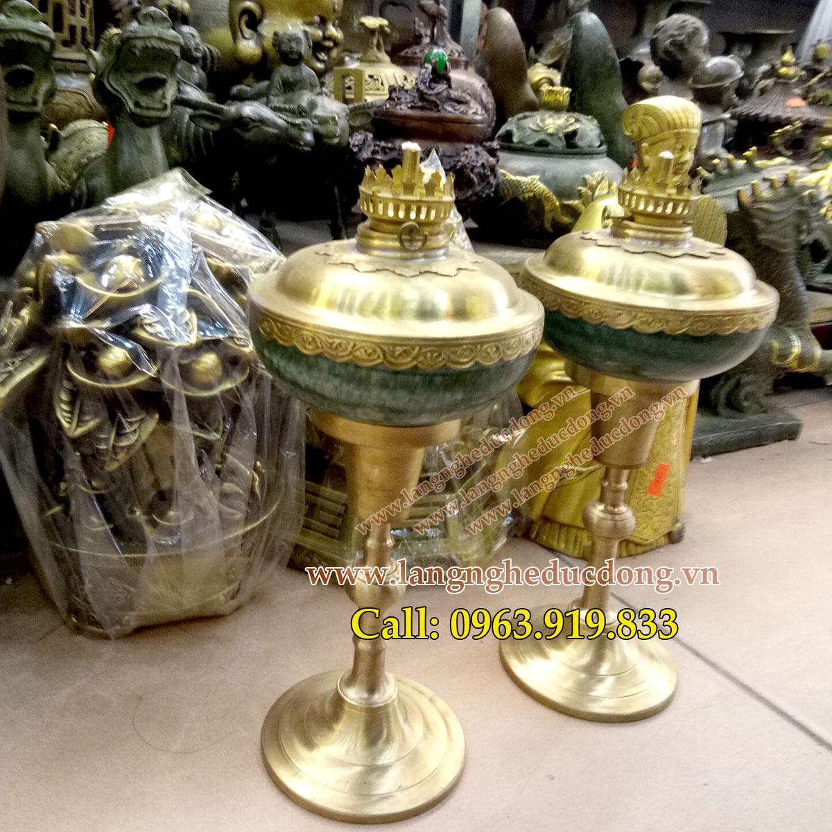 langngheducdong.vn - đèn dầu, đèn sứ bọc đồng, đèn thắp dầu thơm, đèn thờ thắp tinh dầu