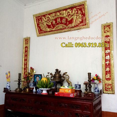 langngheducdong.vn - cuốn thư, câu đối, đại tự, hoanh phi, đồ thờ cúng bằng đồng, đồ đồng thờ cúng, bộ đồ thờ