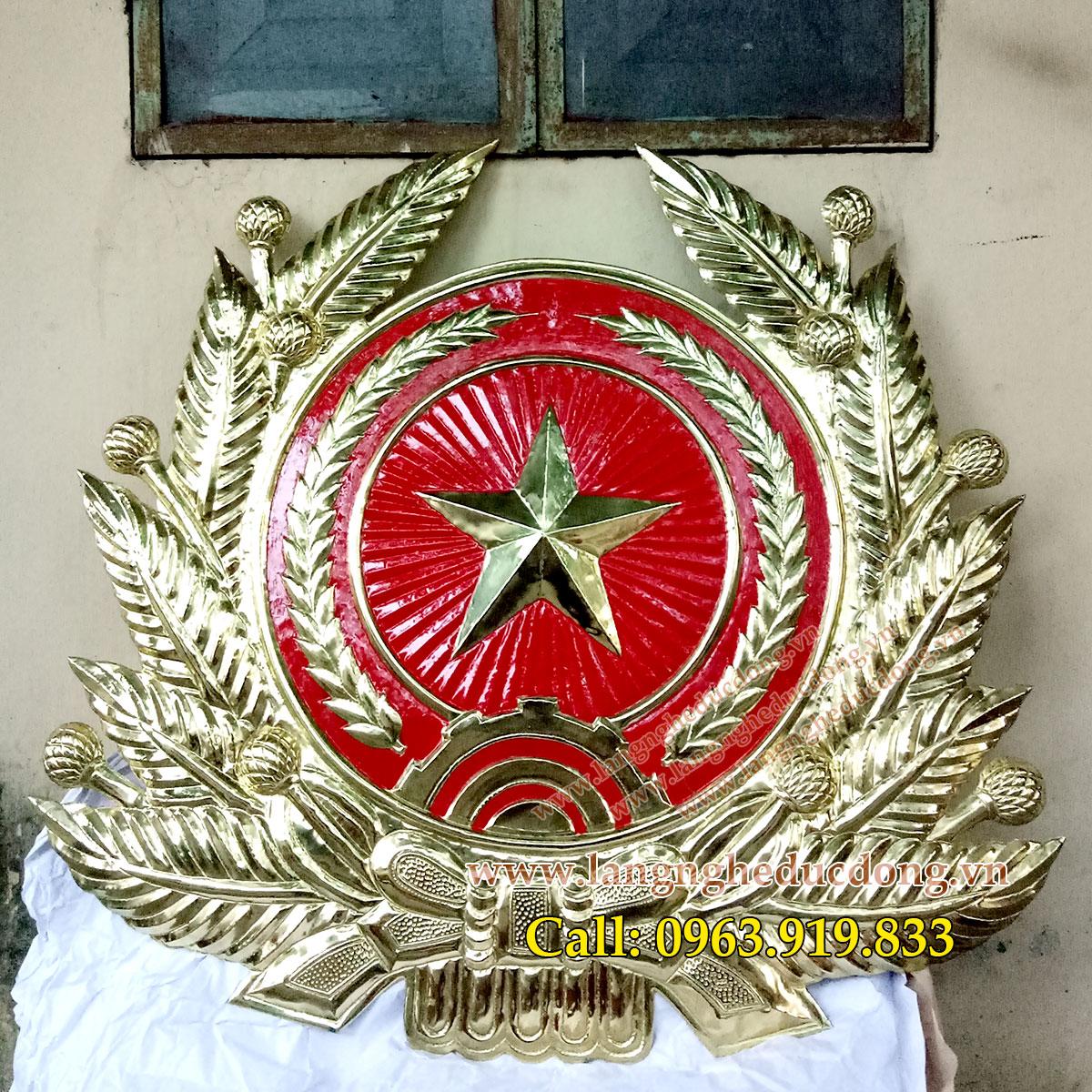 langngheducdong.vn - quân hiệu, huy hiệu quân đôi, quân hiệu bằng đồng