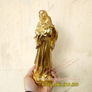 langngheducdong.vn - tượng đức mẹ maria, tượng đức mẹ bồng con, tượng thiên chúa, tượng trang trí bằng đồng