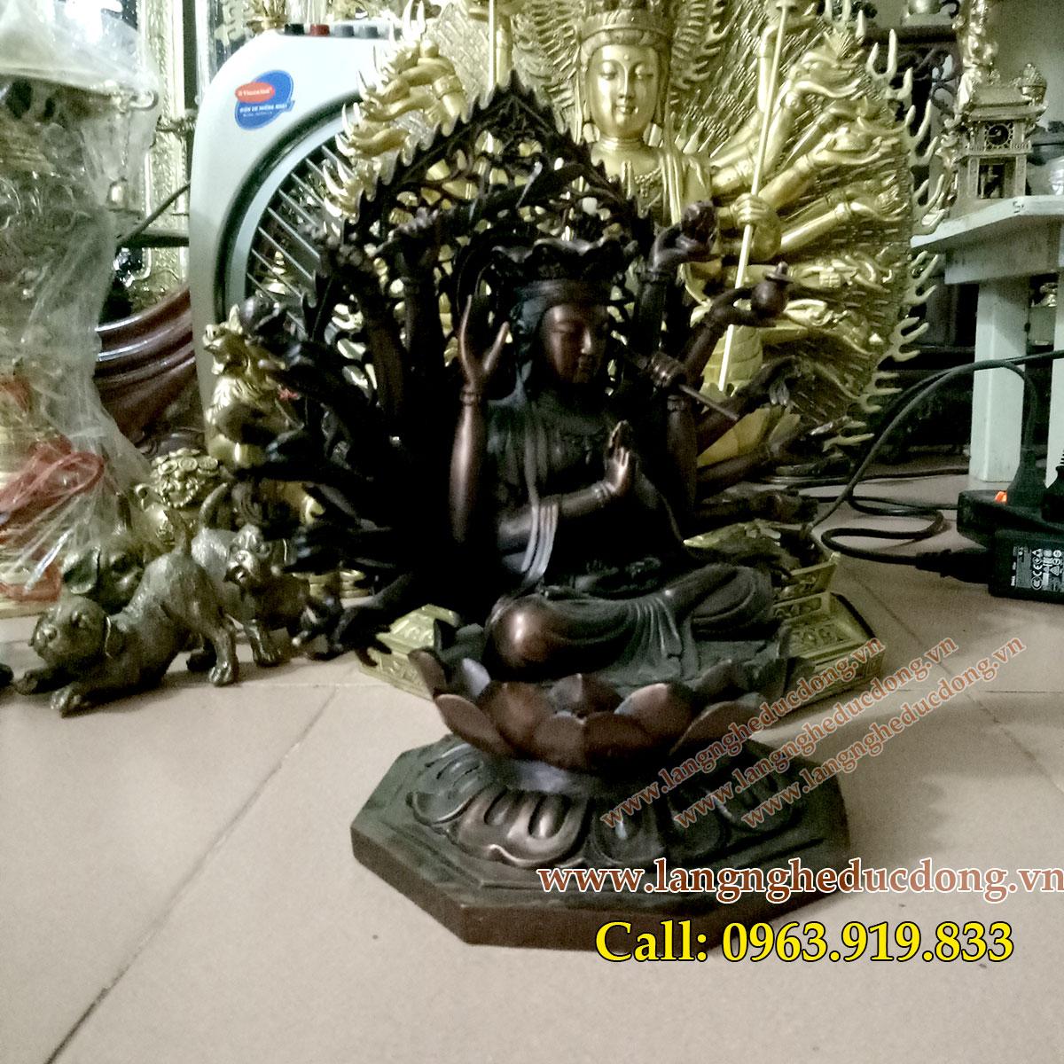 langngheducdong.vn - tượng đồng, tượng phật, tượng chuẩn đề, đúc tượng đồng, nhận đúc tượng đồng