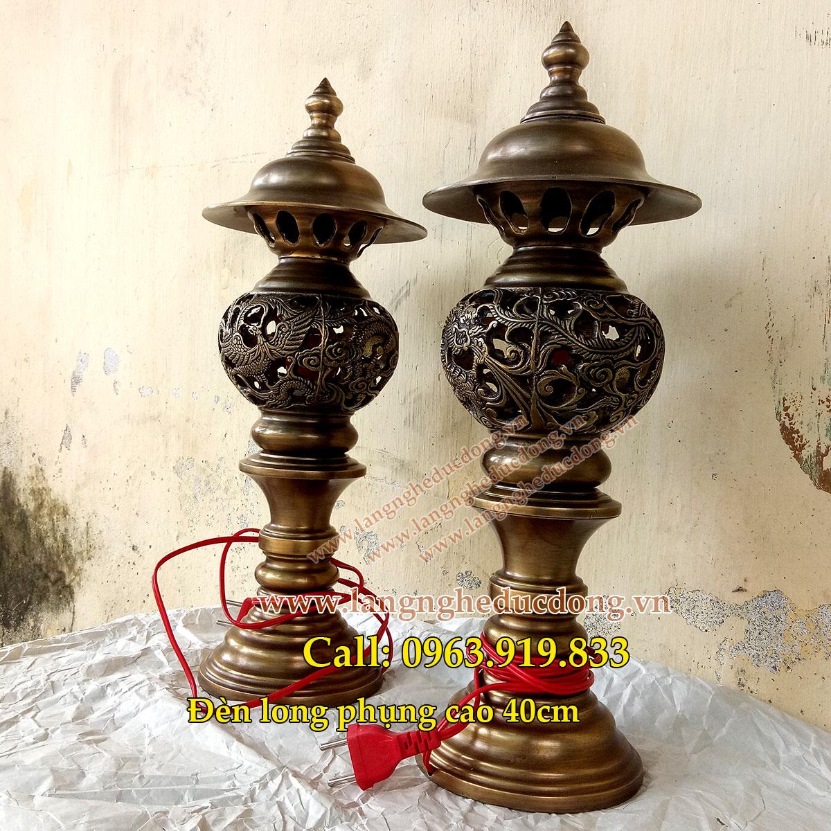 langngheducdong.vn - đèn thờ bằng đồng, đèn thờ cúng, đèn trang trí bàn thờ, đồ đồng thờ cúng