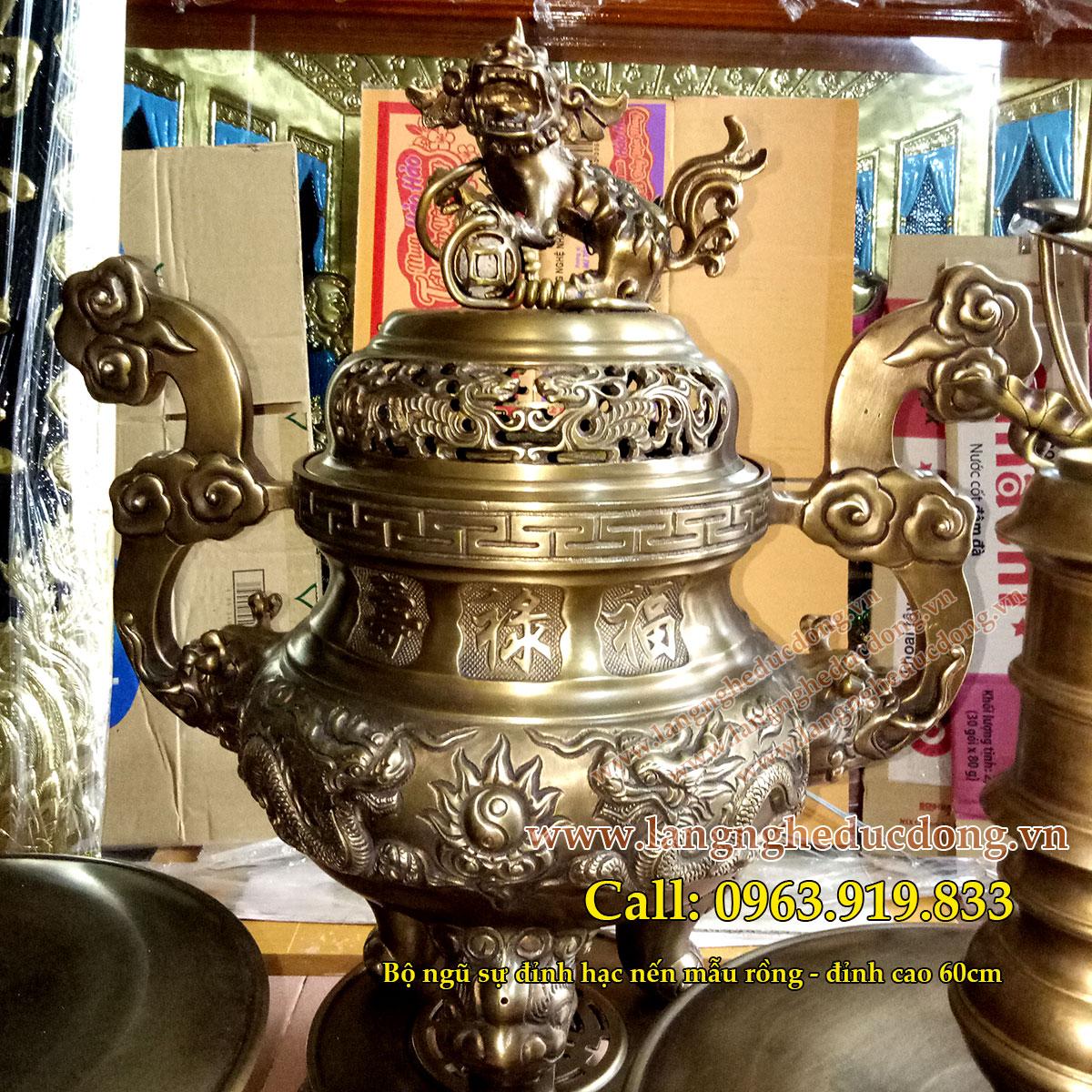 langngheducdong.vn - đỉnh đồng, lư hương, bát hương, lọ hoa, mâm bồng, đồ thờ cúng