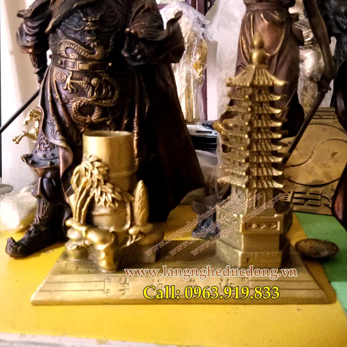 langngheducdong.vn - vật phẩm phong thủy, đồ phong thủy bằng đồng, tháp văn xương