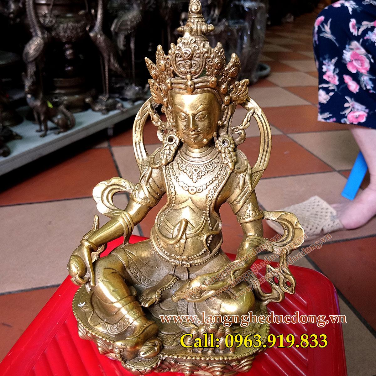 langngheducdong.vn - tượng hoàng thần tài, hoàng thần tài bằng đồng