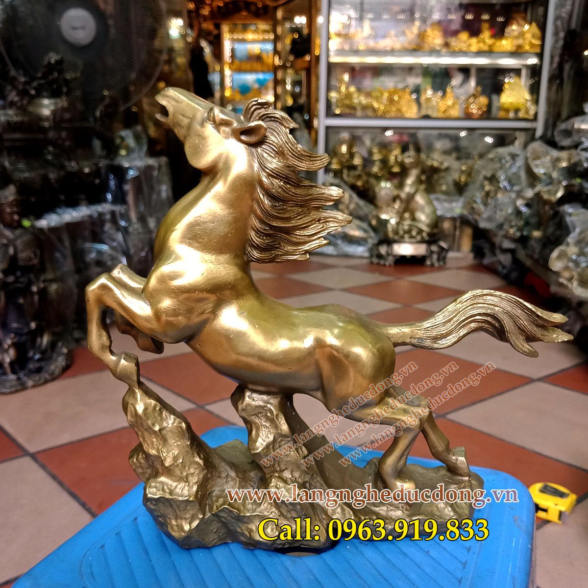 langngheducdong.vn - tượng ngựa đồng, ngueaj phong thủy, ngựa trang trí, đúc tượng ngựa đồng