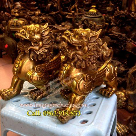 langngheducdong.vn - tỳ hưu, kỳ hưu, đồ đồng phong thủy, tượng phong thủy, vật phẩm phong thủy