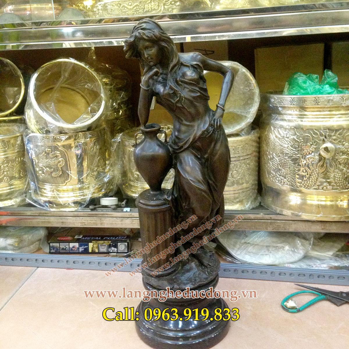 langngheducdong.vn - tượng đồng trang trí, tượng nghệ thuật, tượng trang trí phòng khách, trang trí tủ kệ
