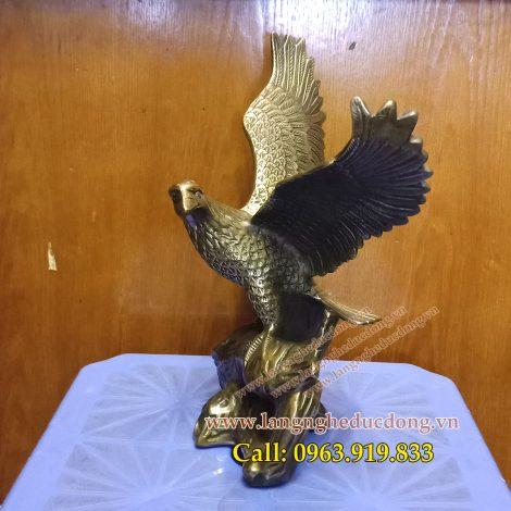 langngheducdong.vn- tượng đồng, tượng đại bàng bằng đồng, đúc tượng đại bàng, tượng
