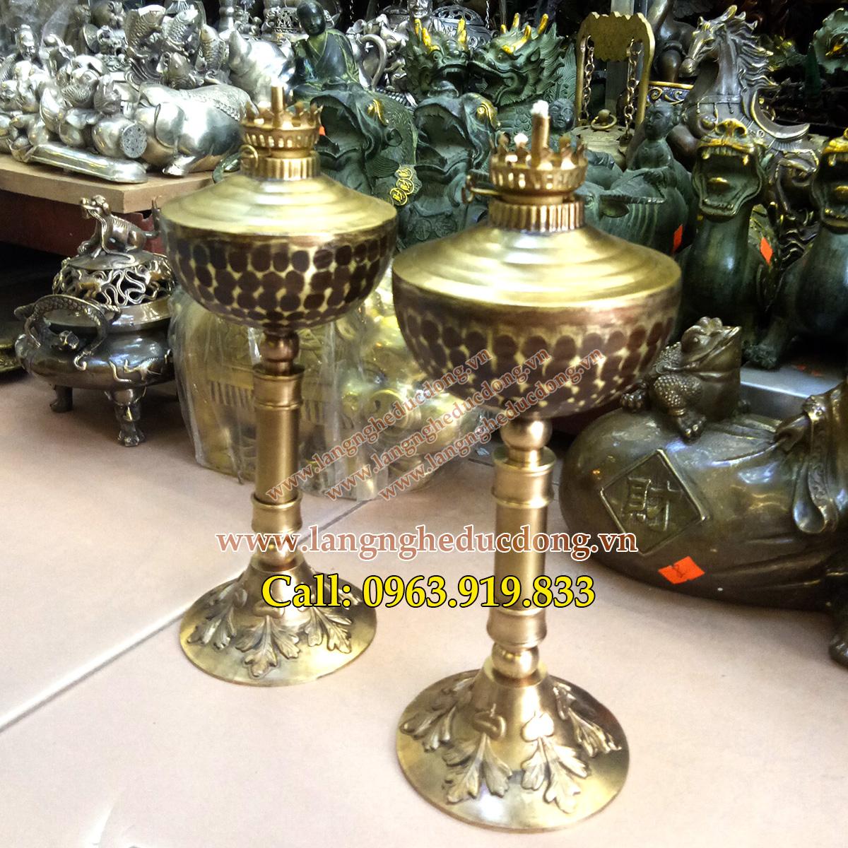 langngheducdong.vn - đèn dầu, đèn đồng thắp dầu, đèn thờ bằng đồng