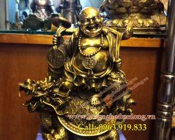 langngheducdong.vn - Tượng Phật Di Lạc, gánh vàng,Phật di lặc, gánh Tiền, TƯợng thờ cúng, Phật Tổ di lặc