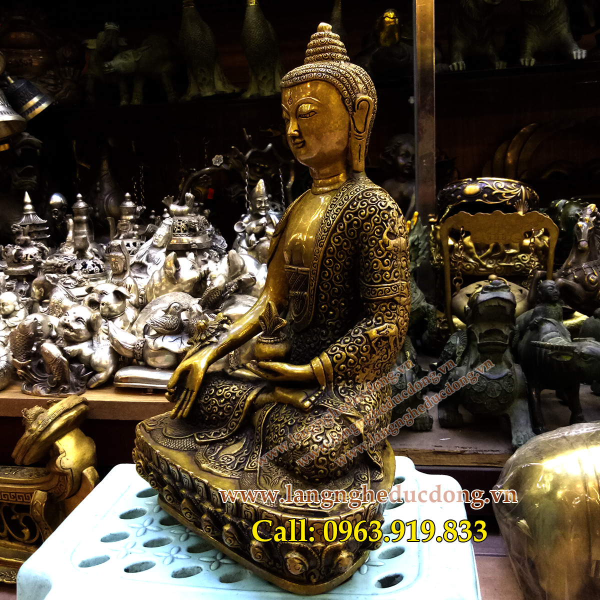 langngheducdong.vn - tượng đồng, tượng phật, tượng thích ca, tượng adida, tượng dược sư