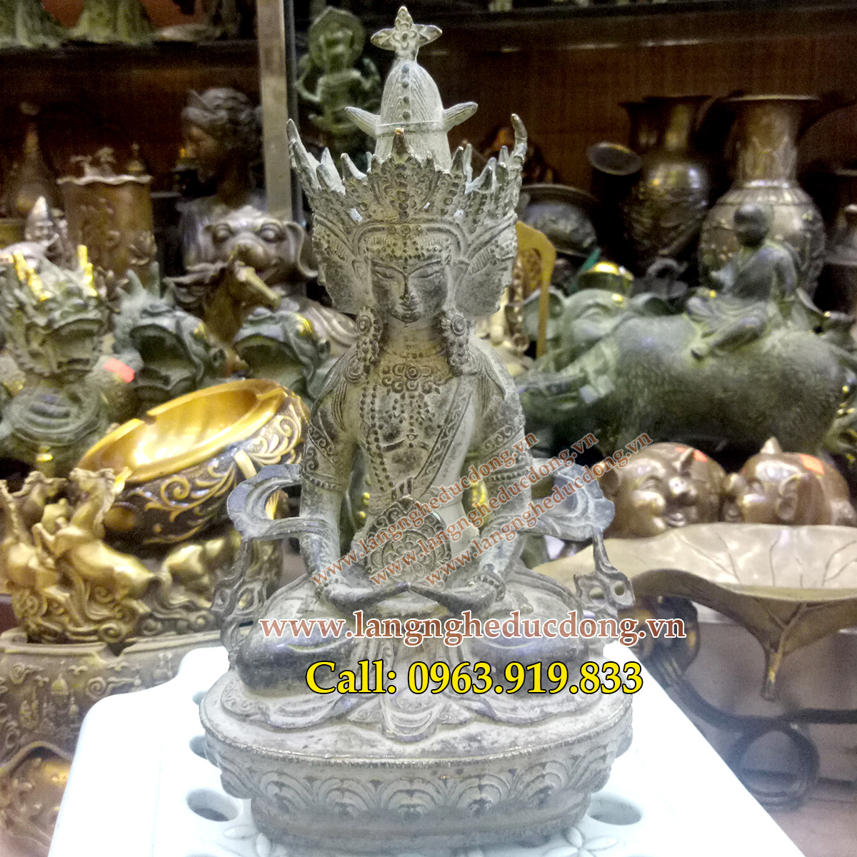langngheducdong.vn - tượng phật, tượng đồng, tượng thờ cúng, tượng phật giả cổ