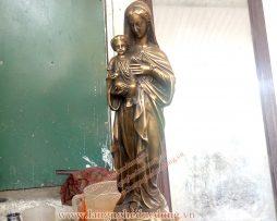 langngheducdong.vn - tượng thiên chúa giáo, tượng đức mẹ maria, tượng đồng